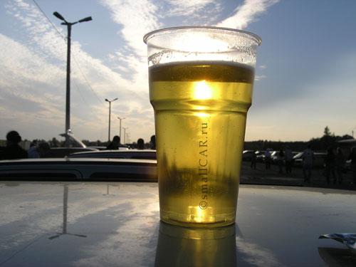 Фото: А вот и пиво светлое и душистое