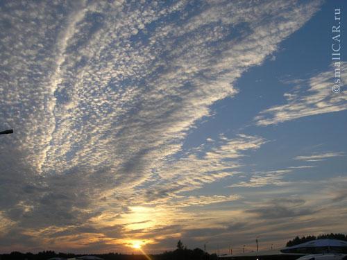 Фото: Отличный закат