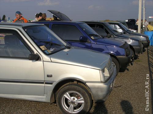 Фото: Автомобильный ряд автомобилей ОКА пополняется