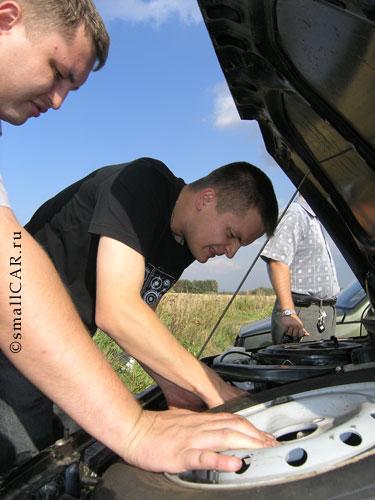 Фото: Регулировка и настройка двигателя