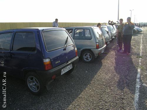 Фото: Региональная встреча - автомобилией ОКА