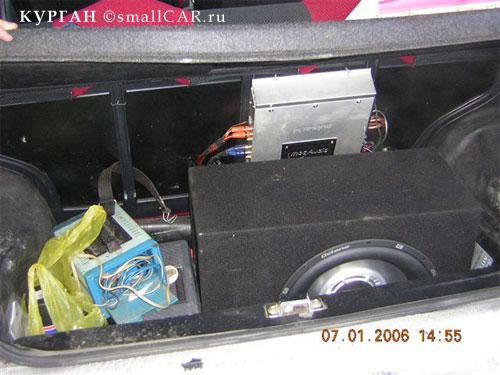Фото: в машине марата сираева