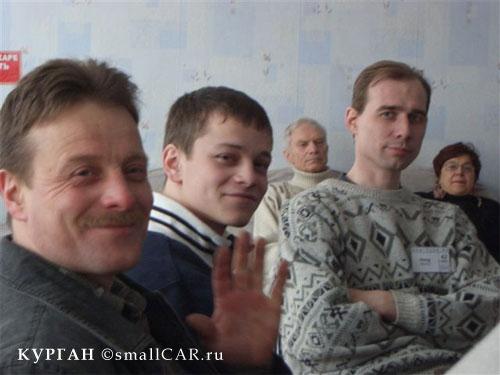 Фото: альберт мезенцев, его сын, и Денис моргатый