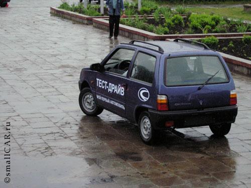 """Фото: Автомобиль ждёт следующего своего """"гонщика"""""""