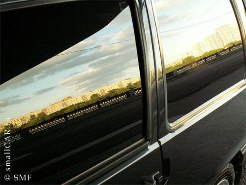Фото: Вид Москвы в отражении