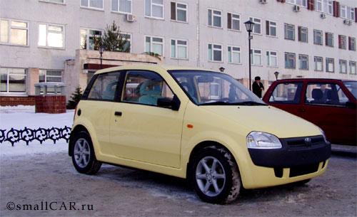 Фото: Автомобиль ОКА-2 в г. Набережные Челны
