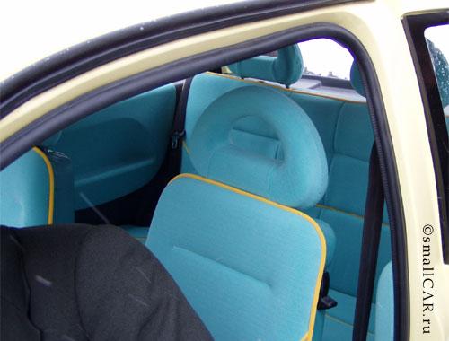 Фото: Посмотрим на задние сиденья Оки-2