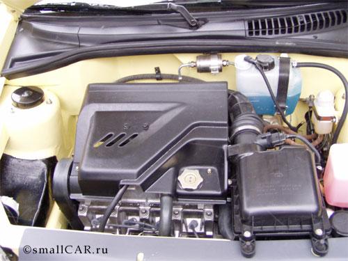Фото: Двигатель Оки-2 ещё ближе