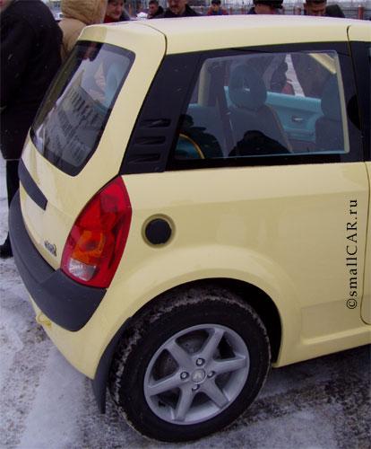 Фото: Задняя половина автомобиля ОКА-2