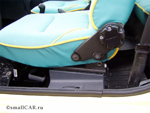 Фото: Переднее сиденье Оки-2