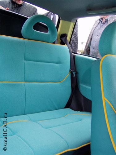 Фото: Задние сиденья Оки-2
