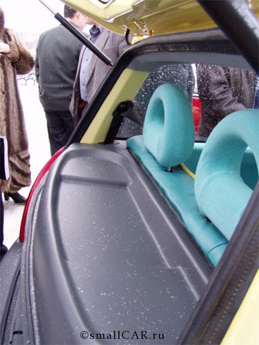 Фото: Полка багажника Оки-2