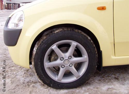 Фото: Переднее колесо и диск - ОКА2