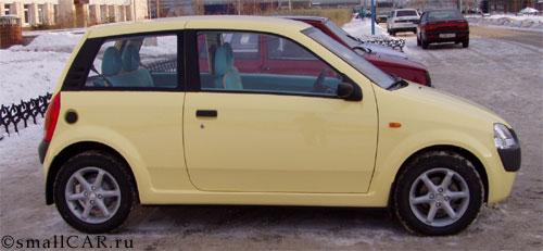 Фото: Автомобиль ОКА-2 на улице, г. Набережные Челны