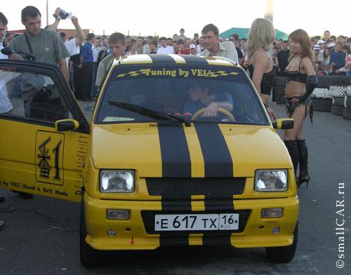 Фото: Тюнинговая окушка готова к конкурсу авто звука