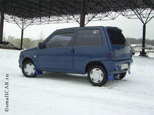 Фото: Фото 3 - синий автомобиль ОКА