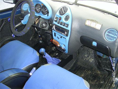 Фото: Фото 4 - синий автомобиль ОКА
