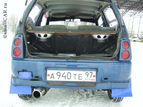 Фото: Фото 5 - синий автомобиль ОКА