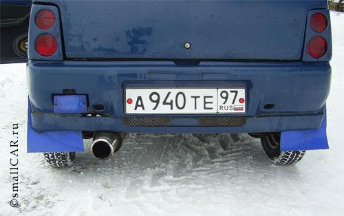 Фото: Фото 6 - синий автомобиль ОКА