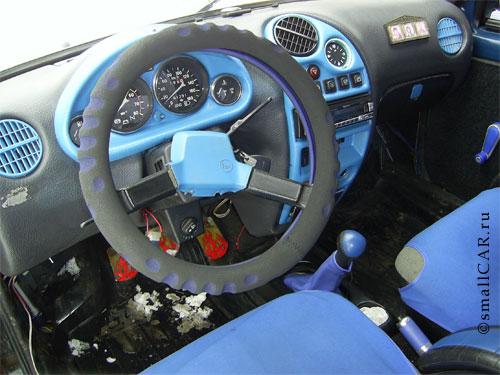 Фото: Фото 8 - синий автомобиль ОКА