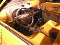 Салон автомобиля ОКА-2 со стороны водителя