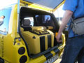 Звуковой багажник автомобиля Ока от VEL